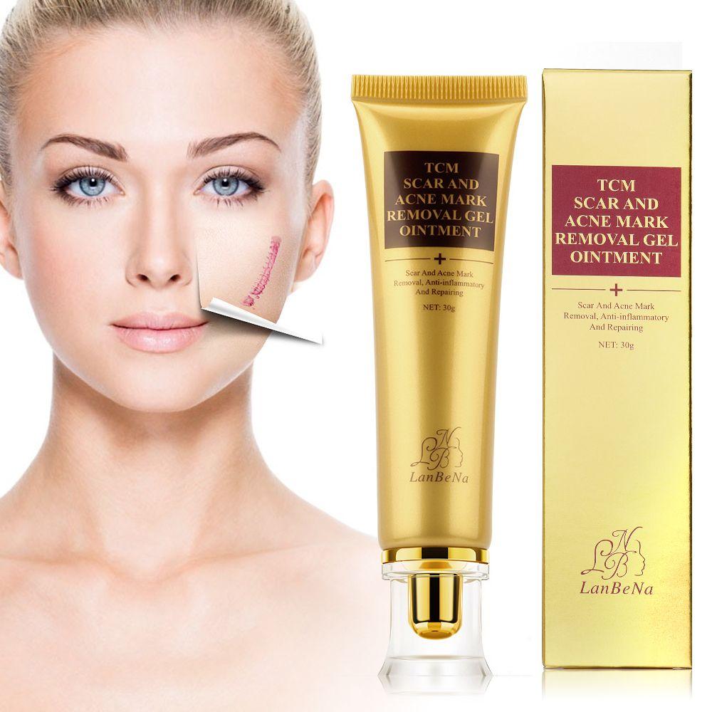 US Stock Strentch marques acné cicatrice dissolvant traitement de l'acné rétrécissement Pores Gel crèmes de blanchiment blanchissant hydratant visage crème de jour