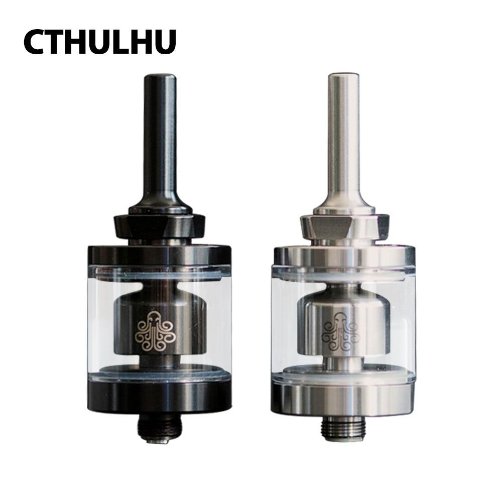 New Original 2ml Cthulhu Hastur MTL RTA Mini Tank 22mm Diameter with 3 Air Holes & Smaller Chamber Bottom Airflow Control Tank