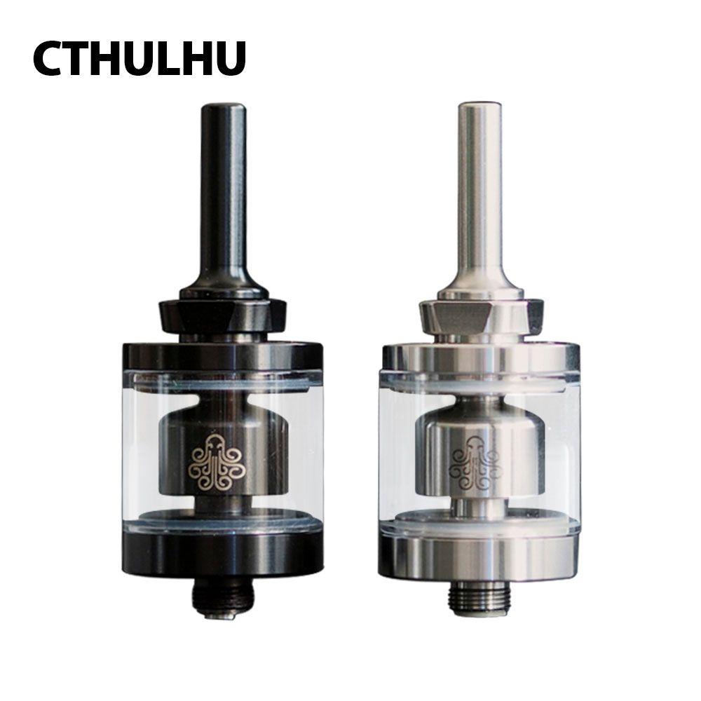 New Original 2ml Cthulhu Hastur MTL RTA Mini Tank 22mm Diameter with 3 Air Holes & Smaller Chamber Bottom Airflow Control Tank