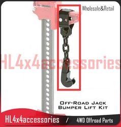 Pare-chocs ascenseur 4x4 utiliser avec salut ascenseur jack pour pare-chocs courbes, bull bar ferme jack lifter pare-chocs adaptateur ascenseur compagnon camion accessoires