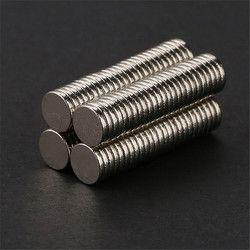 100 unids 5mm x 1mm Craft modelo disco de tierras raras imanes de neodimio fuertes estupendos N50