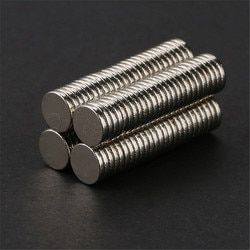 100pcs 5mm x 1mm Craft Model Disc Rare Earth Neodymium Super Strong Magnets N50