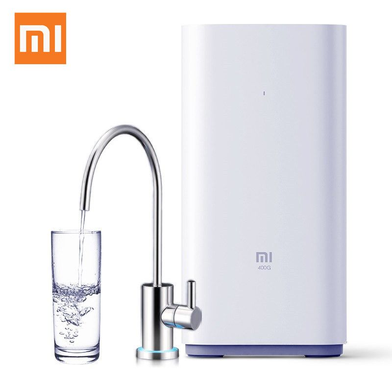 Household Original Xiaomi Countertop RO Water Purifier 400G Membrane Reverse Osmosis Water Filter System