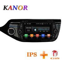 KANOR Android 8,0 IPS Octa core 4 + 32G coche reproductor Multimedia para KIA Ceed 2013 de 2014 de Audio 2015 radio UNIDAD DE 2din Android Radio