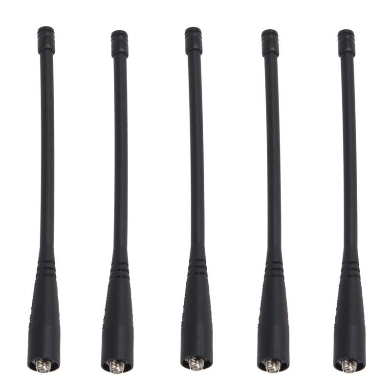 5pcs Bao feng walkie talkie antenna for UV-5R GT-3 UV-5R UV5RE F8HP dual band 136-174mhz 400-520mhz