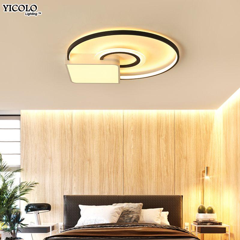 Dimmable Led Ceiling Lights For living room bed room lamparas de techo vintage Modern Lighting Fixture deckenleuchte AC85-260V