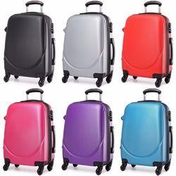 KONO maletas y bolsas de viaje llevar equipaje cabina mano Trolley 4 ruedas Spinner duro ABS Shell 20 pulgadas L1602L