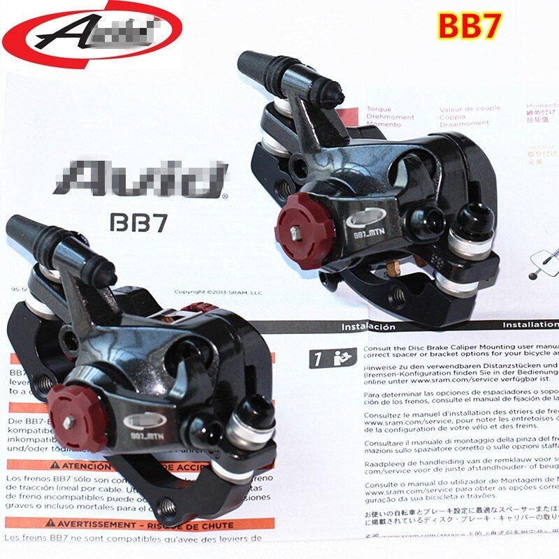 BB7 MTB Mountain Bike Mechanical Disc Brakes Calipers Bicycle Parts 1 Pair/2pcs