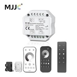 Triac Dimmer LED 220 v 230 V 110 V AC inalámbrico RF Dimmable interruptor con 2,4g remoto Dimmer 220 V para bombillas LED lámparas