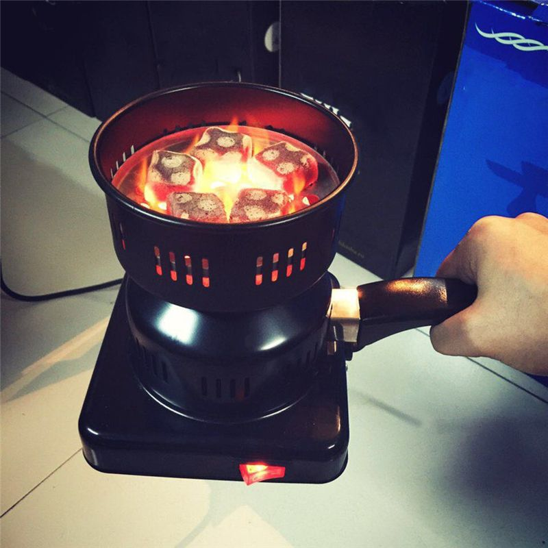 OUTAD Charcoal Stove Electric Charcoal Burner Details to Electric Coal Lighter Coal Lighter Shisha Heating Plate Burner 650W