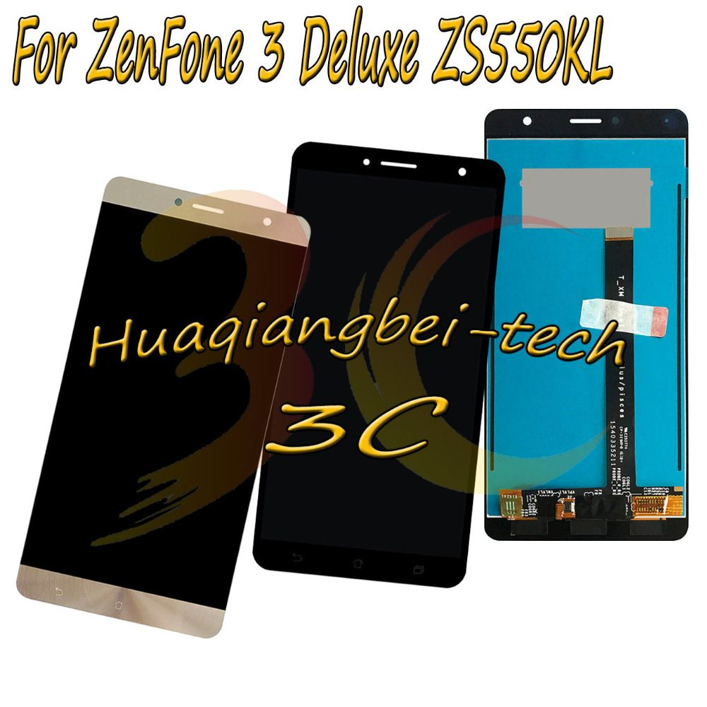 5.5'' New For Asus ZenFone 3 Deluxe ZS550KL Z01FD Full LCD DIsplay +Touch Screen Digitizer Assembly 100% Tested