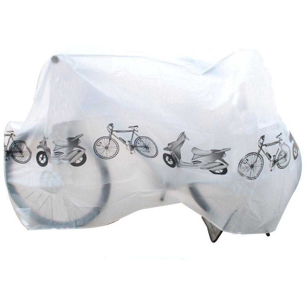 Imperméable à l'eau En Plein Air Scooter Moto De Vélo De Pluie Housse de protection 210 cm x 100 cm Polyester Vélo Protégez Vitesse