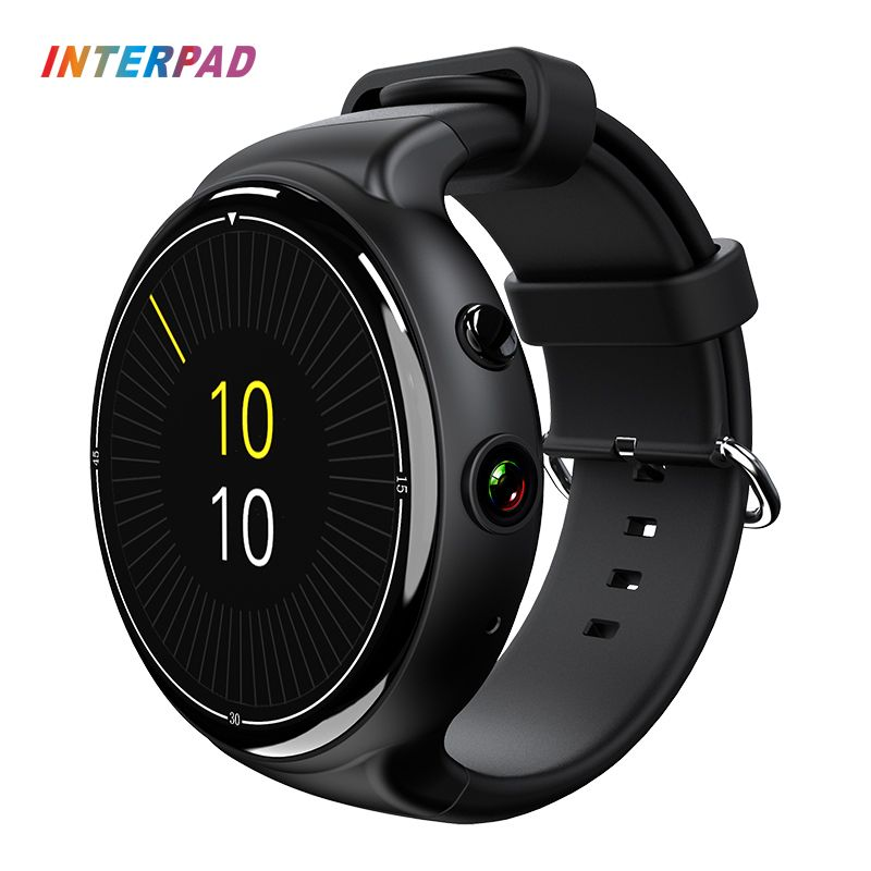 Interpad I4 Air Smartwatch Android 5.1 2GB 16GB 2MP WIFI 3G GPS Heart Rate Monitor Bluetooth 4.0 MTK6580 Quad Core Smart Watch