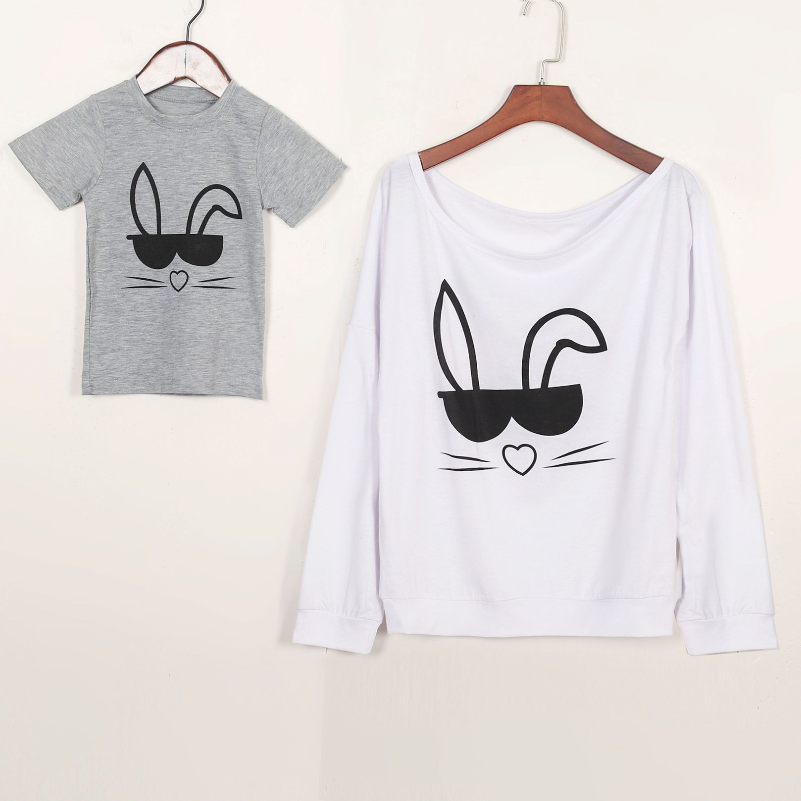 Семейный комплект одежды футболка Топы корректирующие Для женщин и ребенка милые Животные футболки Повседневная одежда мальчиков От 1 до 5 ...