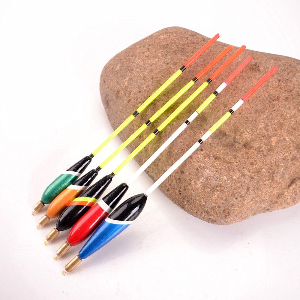 FISCH KÖNIG Marke 5 Teile/satz Sea Fishing Float Bobbers Set Mix Farbe Größe Barguzinsky Fir Schwimmt für Angeln Angelgerät qualität