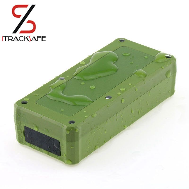 iTrac Magnet Car GPS Tracker <font><b>Vehicle</b></font> GPS Locator Waterproof Magnet Standby Real Time LBS Position Lifetime Free Tracking