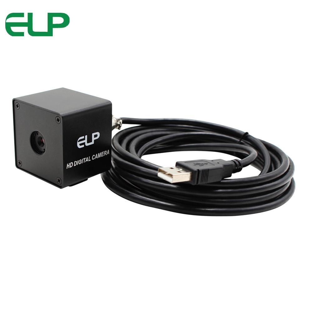 5.0 megapixel 2592 x 1944 60 degree auto focus lens OV5640 CMOS endoscope survillance UVC black metal box Autofocus usb camera