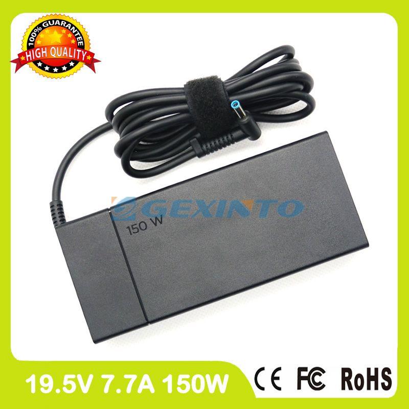 19.5V 7.7A Slim ac adapter TPN-DA09 TPN-DA03 ADP-150XB B laptop charger for HP Pavilion 15t-bc200 17t-ab200 Omen 17-w000