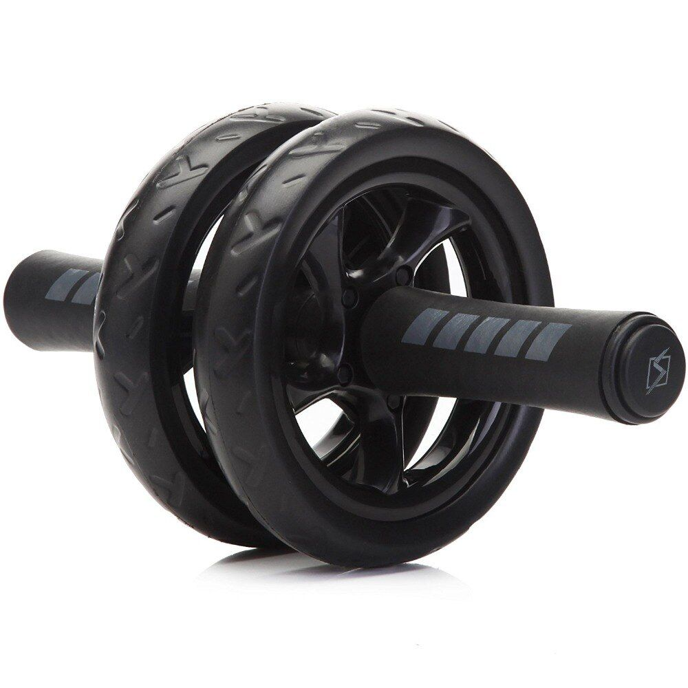 New Keep Fit <font><b>Wheels</b></font> No Noise Abdominal <font><b>Wheel</b></font> Ab Roller With Mat For Exercise Fitness Equipment