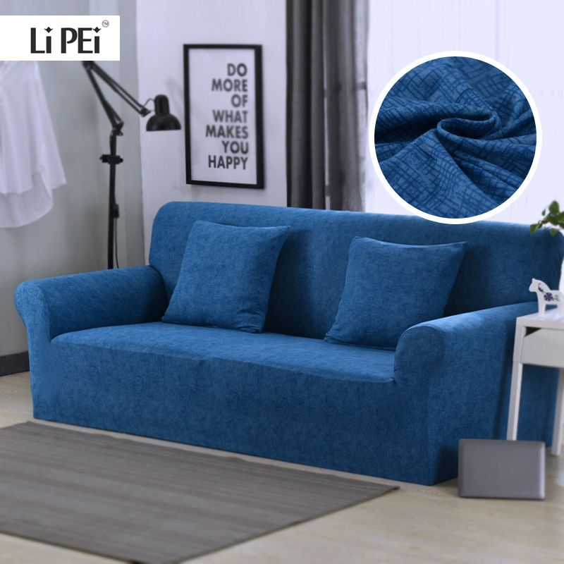 Croix modèle élastique Stretch universel canapé couvre sectionnel jeter canapé coin couverture housses pour meubles fauteuils décor à la maison