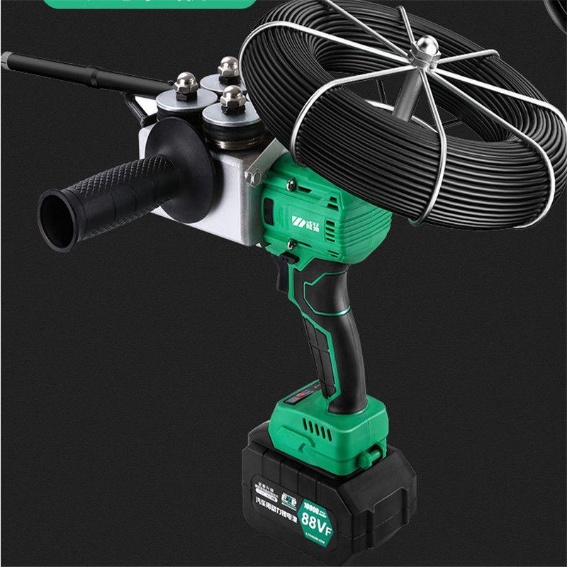 88VF 10000MAN Elektriker Besaitung Maschine Voll Automatische Wand Blei Draht Elektrische Lade Threading Maschine 40 m/min