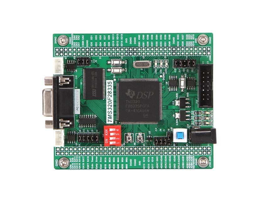 DSP development board, DSP28335 development board, TMS320F28335PGFA 28335 model design platform