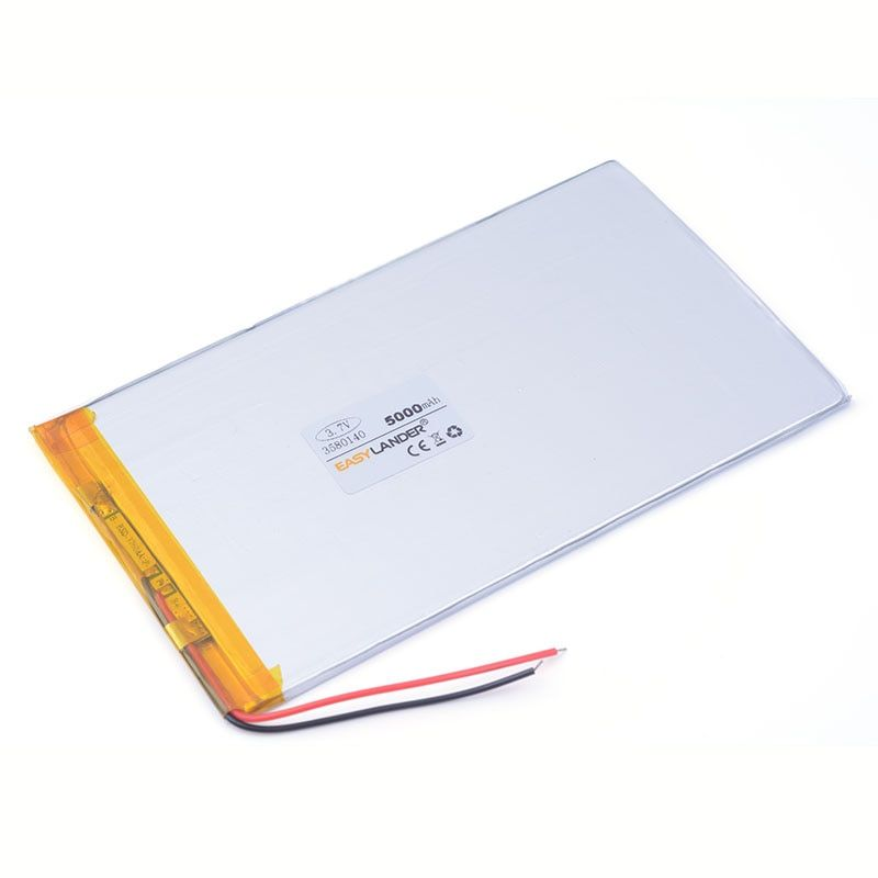 Bom qulity 3,7 v 5000 mah 3580140 bateria li-ion para chuwi v88 v971 m9 pipo tablet pc laptop handy lautsprecher 3,5*80*140mm