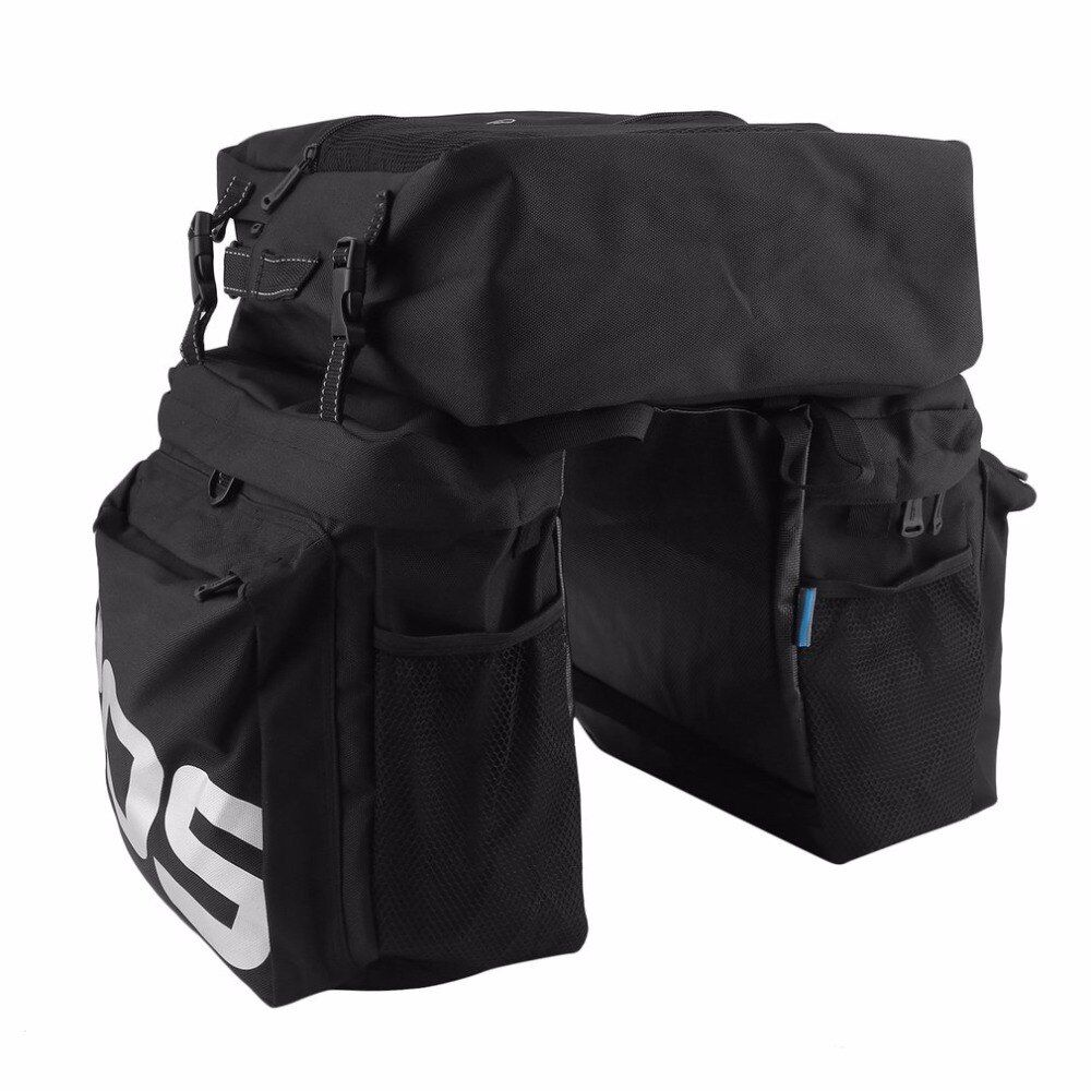 ROSWHEEL MTB Mountain Bike Carrier Rack Bag 3 In 1 Multifunctional Road Bicycle Luggage Pannier Rear Seat Trunk Bag Brand new