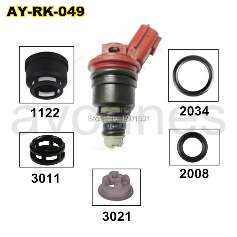12pieces/set auto parts  fuel injector repair kits for 16600-96E01 A46-00 FJ285  for NISSAN  (AY-RK049)