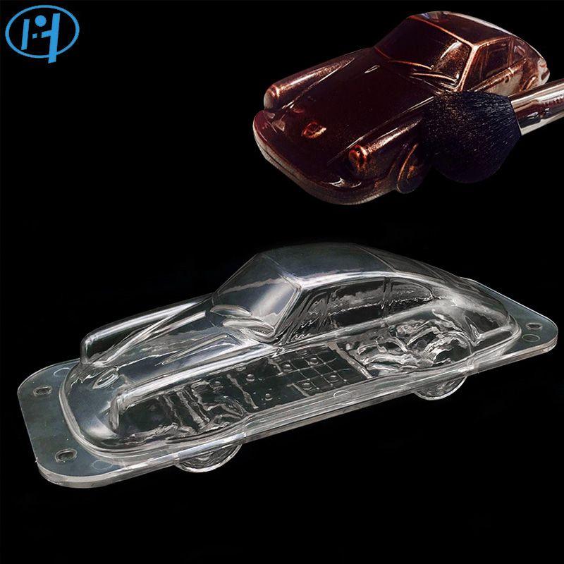 Plastique Automobile chocolat moule 3D bricolage à la main Sport voiture gâteau bonbons moule véhicule chocolat faisant outil gâteau décoration moules