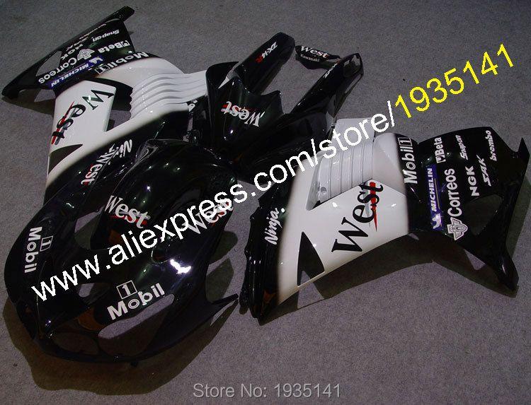Heiße Verkäufe, für Kawasaki ZX14R 06 07 08 09 10 11 Ninja ABS Kunststoff verkleidungen ZZR 1400 ZX-14R 2006-2011 teile (spritzguss)