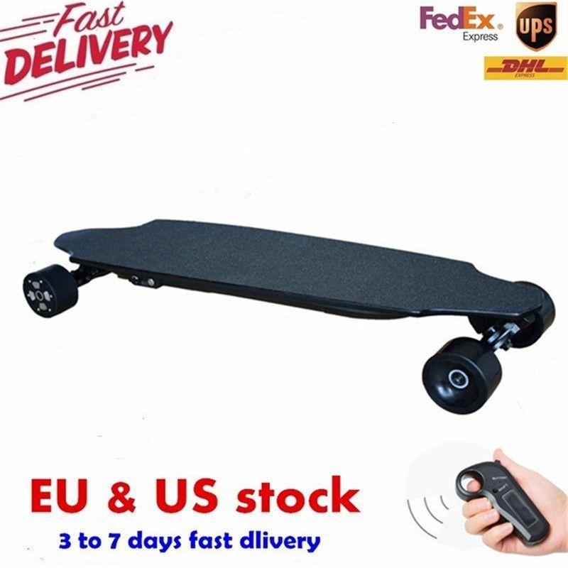40KM/h 4 Wheel Electric Skateboard Dual Motor Remote Wireless Bluetooth Control Scooter Hoverboard Longboard