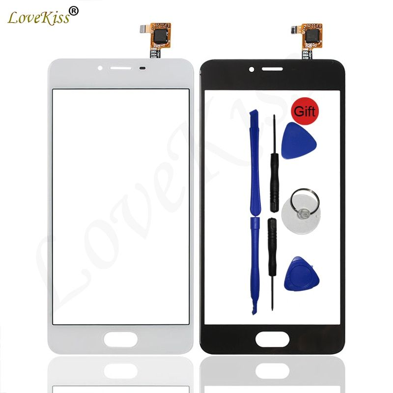 M3S Mini Touchscreen Front Panel For Meizu M3 M3S Mini M3Mini Touch Screen Sensor Digitizer LCD Display Glass Replacement Tool