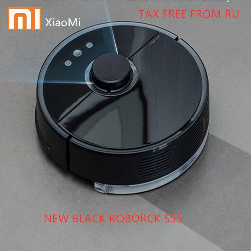 Nouveau Roborock S55 S51 Xiaomi robot aspirateur 2 Prévues De Nettoyage aspirateur pour La Maison Balayage balai mouillé App Contrôle