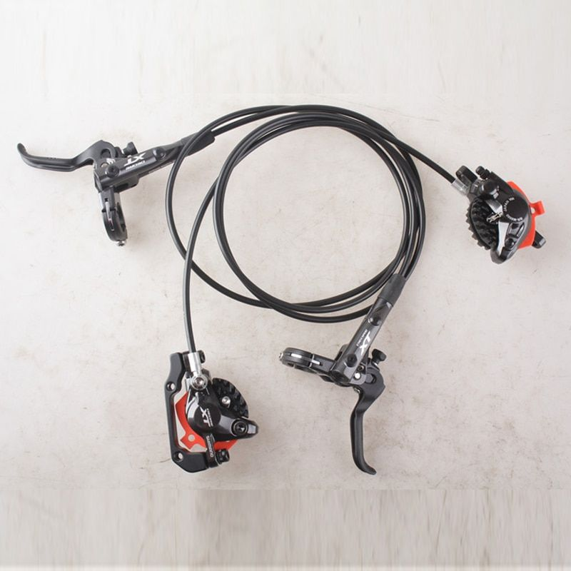 SHIMANO DEORE XT M8000 Hydraulic Disc Brake Include ICE-TECH PADS Left & Right for Mountain Bike 800/1400mm