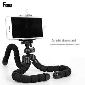 FGHGF Mobile Phone Stand Car Phone Holder Flexible octopus Tripod Bracket Digital Camera Mini Portable Flexible Desktop Stent
