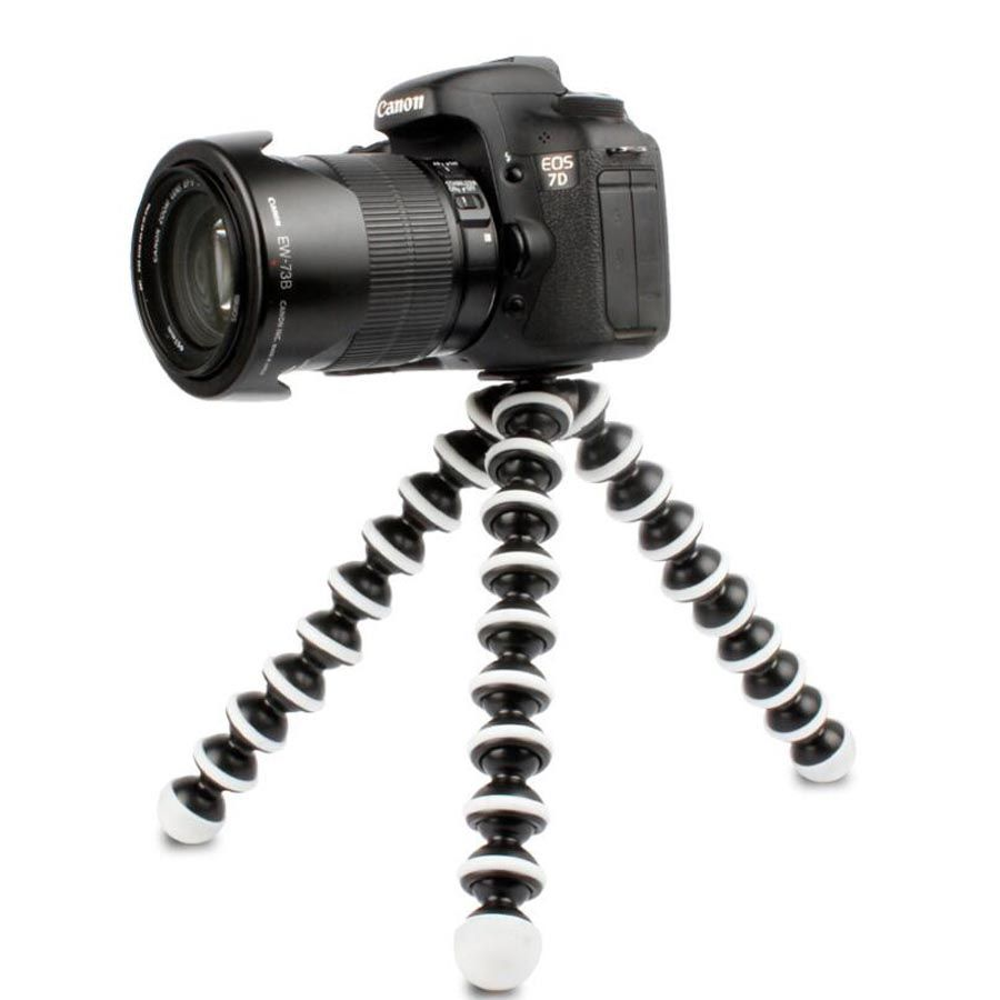 M L Medium Large Size Camera Tripods Load 1.2G 3G Gorillapod Monopod Flexible Tripod Mini Travel Outdoor Digital Cameras Hoders