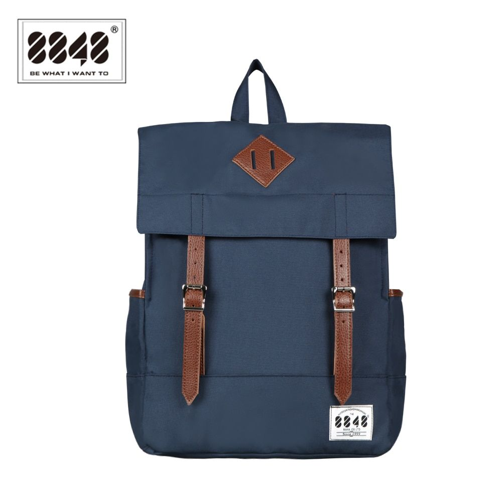 8848 Women Blue Schoolbags Fashion Waterproof Teenager School Bags For Girls Rucksack Aztec Mochila Escolar Bolsas DYBN0013-D002