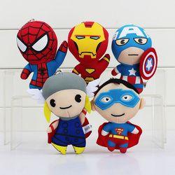 The Avengers Superhero Spiderman Superman Captain America Ironman X-men Origins Mewah Nylex Mainan Boneka 4 ''11 Cm
