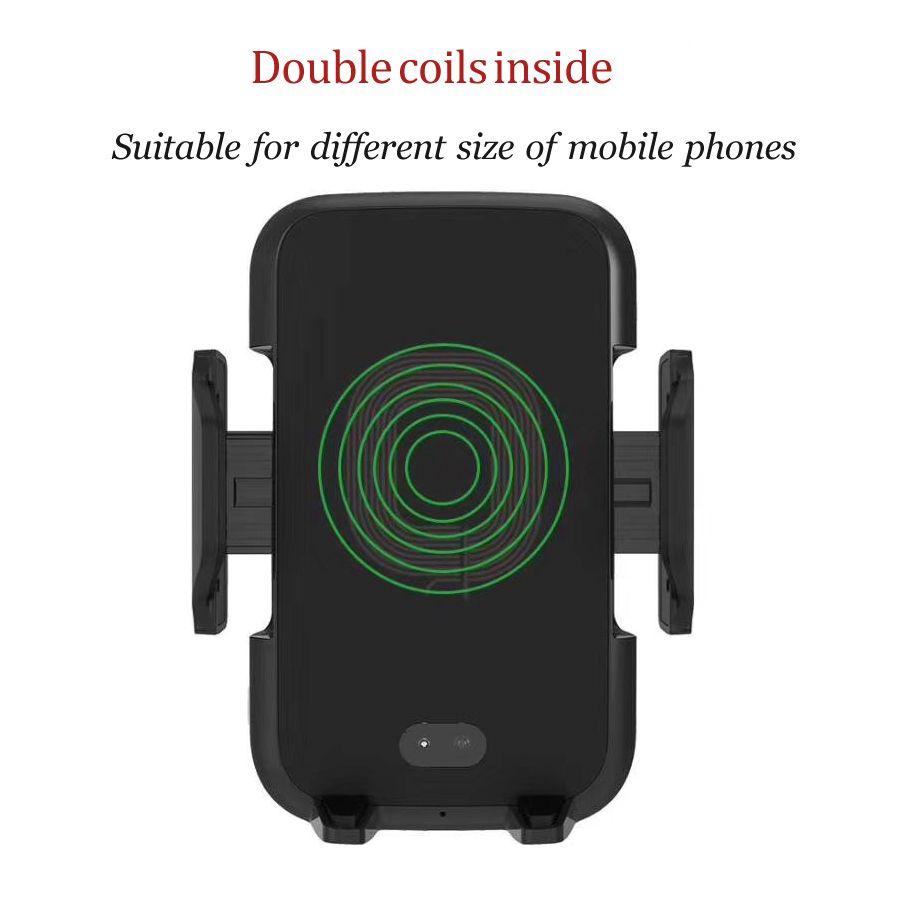 Auto Drahtlose schnelle Ladegerät mit automatische sensor Auto Halterung Air Vent-Halter Für iPhone X 8 8 Plus Samsung s9 S8 S7 S6 Note8