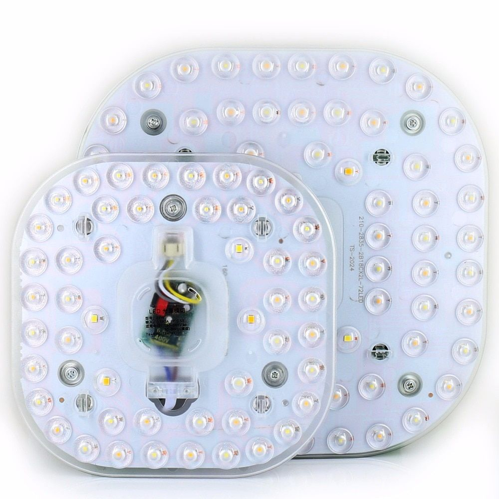 Led Panel Lights 24W 36W 220V Ultra-thin 3 mode two-color Emitting Magnet adsorption Mounted Ceiling optical lens Lamp Board