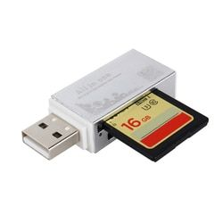 Smart Kartenleser Multi Memory Card Reader für Memory Stick Pro Duo Micro SD TF M2 MMC SDHC MS Silier farben Hohe Qualität