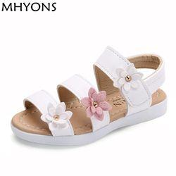 MHYONS Marque Enfants Ssandals Enfants Enfants fille Chaussures D'été filles chaussures Nouveau Mode de Haute Qualité PU Chaussures Sandales