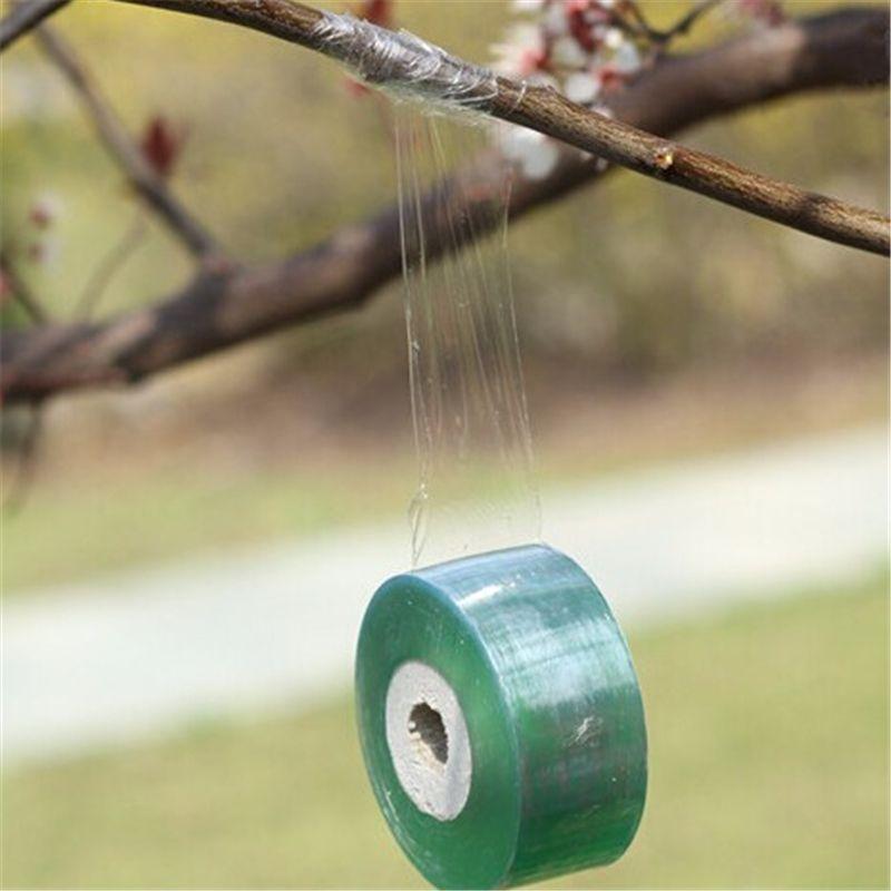 Garden Tools Fruit Tree Secateurs Engraft Branch  Gardening bind belt PVC tie Tape 2CM x 100M / 1 RolI  jt002