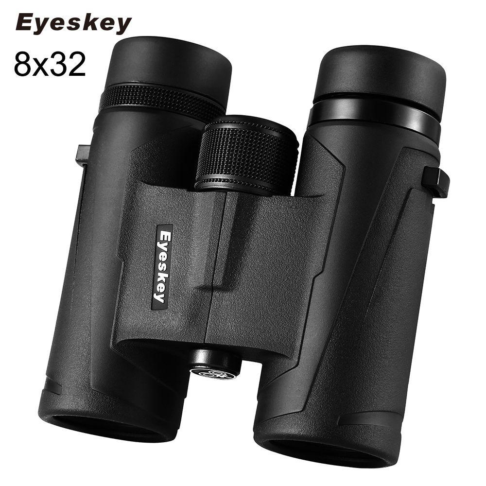 Eyeskey 8x32 Camping Travel Hiking Binocular Scope Bird Watching Waterproof Night Vision Telescope Telescopio Verrekijker