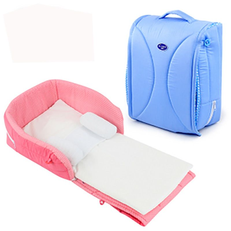 Newborn baby Cradles Crib infant safety Portable folding bed cot playpens bed child comfort station for 0-6 months 2colors