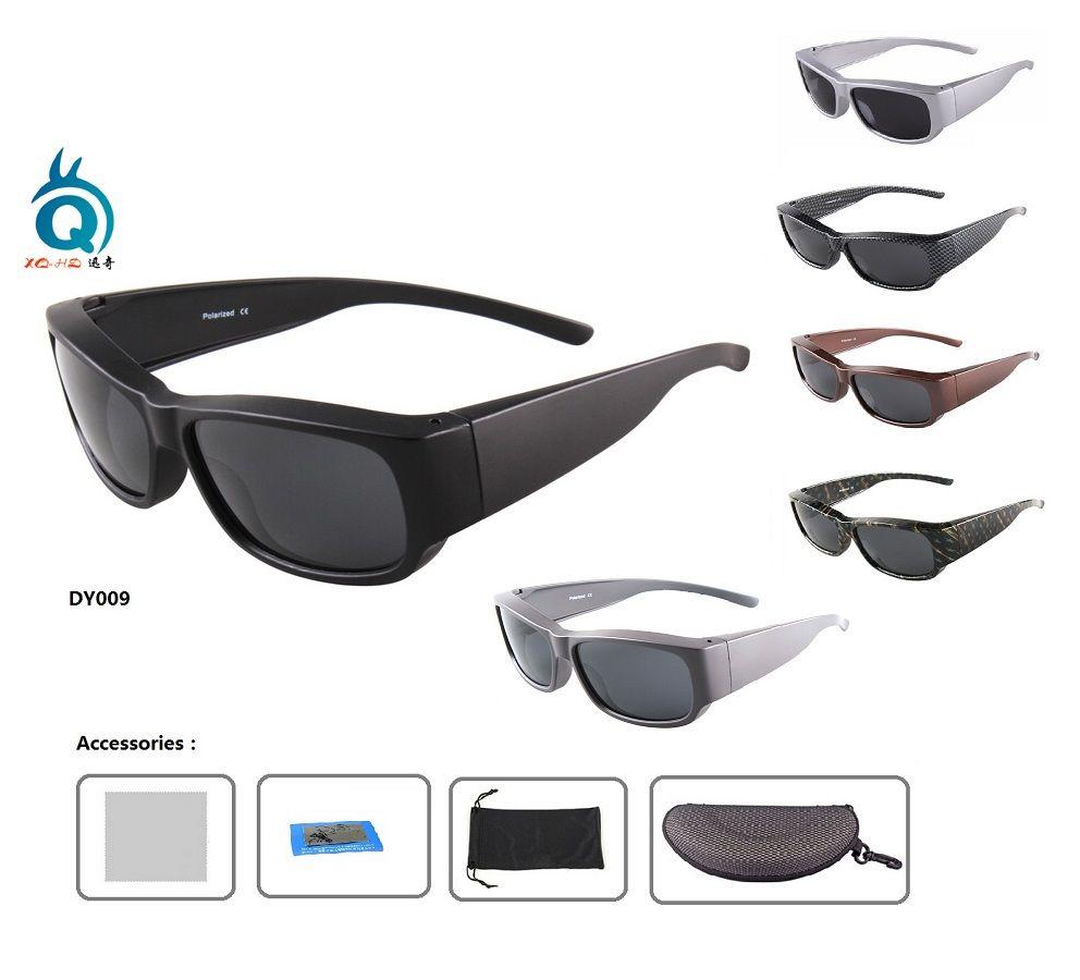Promotion Polarized FIT OVER SUNGLASSES fishing sunglasses polarized grey lens sport sunglasses see floating fishing eyewear