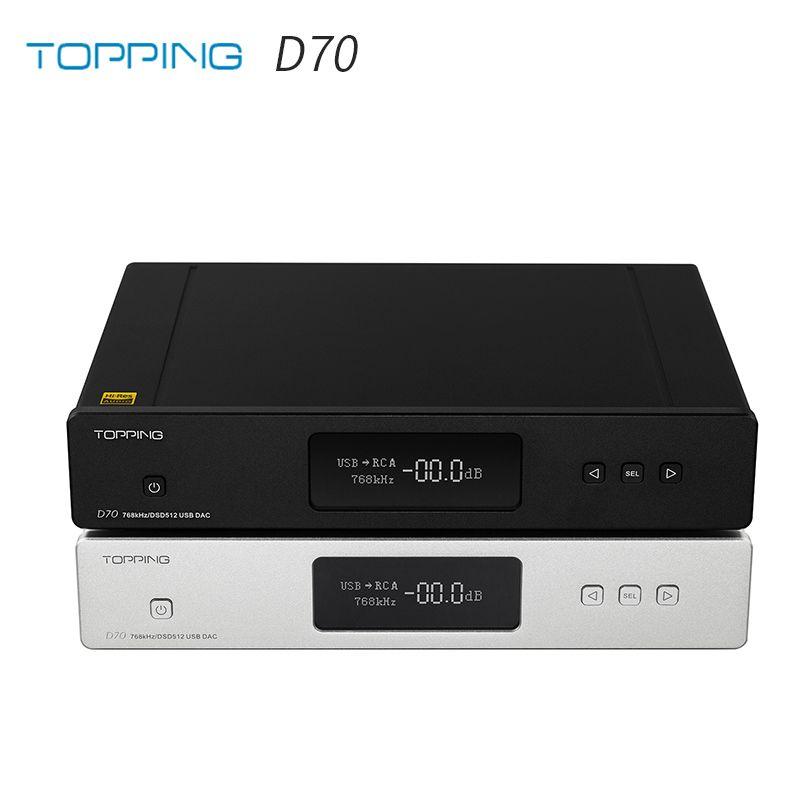 RICHT D70 AK4497 * 2 DAC AK4118 Empfänger XMOS XU208 DSD512 Native 32Bit/768kHz Hallo-Res audio mit Fernbedienung Decoder