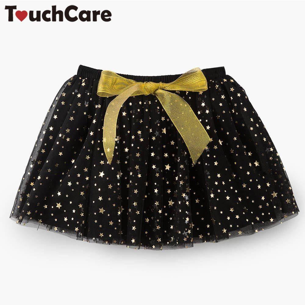 Touchcare Newbron для маленьких девочек Юбки для женщин бантом Кружево детская юбка-пачка для маленьких девочек одежда маленьких звезд на день рожд...