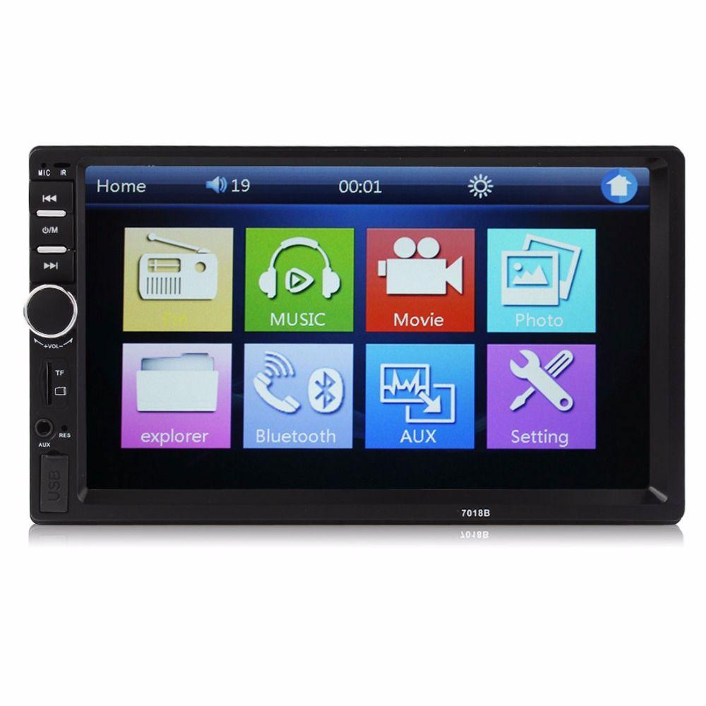 REAKOSOUND véhicule Audio lecteur DVD 7018B 2DIN voiture Bluetooth Audio 7